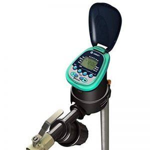Programmateur d'arrosage contrôle via Bluetooth avec valve en ligne. Idéal pour installation souterraine en boîtes de valve de la marque Galcon image 0 produit