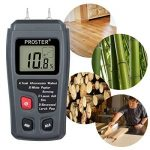 Proster RZMT-10MD Hygromètre à bois Testeur d'humidité Avec écran LCD HD Pour les murs en bois, les buches, enduit à la chaux, béton, carton, papier brique (plage de 0 à 99,9%) de la marque Proster image 4 produit
