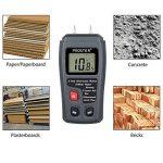 Proster RZMT-10MD Hygromètre à bois Testeur d'humidité Avec écran LCD HD Pour les murs en bois, les buches, enduit à la chaux, béton, carton, papier brique (plage de 0 à 99,9%) de la marque Proster image 2 produit