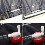 Providethebest Douche d'extérieur Sac d'eau 20L Portable Camping Randonnée Paquet chauffage solaire bain de poche Kits de voyage merveilleux pour AOTU de la marque Provide The Best image 3 produit