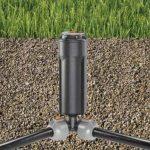 """Raccord d'angle mâle de GARDENA: pièce de raccordement pour raccordement dans la zone angulaire de l'arroseur escamotable T 380, 25 mm x 1/2"""", technologie de raccordement Quick&Easy (2782-20) de la marque Gardena image 3 produit"""