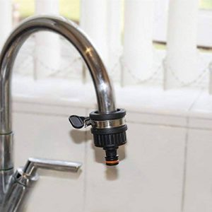 Raccord universel pour robinet 2,5cm Adaptateur de fixation à clipser pour tuyau de jardin de la marque Quantum image 0 produit