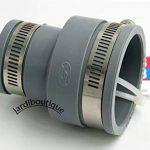 Raccords réduction multi-matériaux en PVC souples FF de 50 à 58 mm et 30 à 38 mm gris - Jardiboutique de la marque Jardiboutique image 2 produit