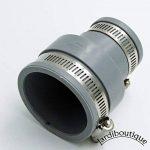 Raccords réduction multi-matériaux en PVC souples FF de 50 à 58 mm et 30 à 38 mm gris - Jardiboutique de la marque Jardiboutique image 3 produit
