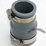 Raccords réduction multi-matériaux en PVC souples FF de 38 à 45 mm et 30 à 38 mm gris - Jardiboutique de la marque Jardiboutique image 2 produit