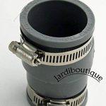Raccords réduction multi-matériaux en PVC souples FF de 38 à 45 mm et 30 à 38 mm gris - Jardiboutique de la marque Jardiboutique image 3 produit
