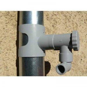 Récupérateur d'eau de pluie CAPT'EAU pour conduits circulaire (GRIS) de la marque Capt'eau image 0 produit