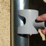Récupérateur d'eau de pluie CAPT'EAU pour conduits circulaire (GRIS) de la marque Capt'eau image 4 produit