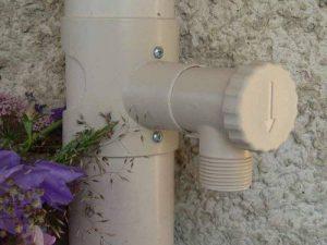 Récupérateur d'eau de pluie CAPT'EAU pour conduits circulaire (SABLE) de la marque Capt'eau image 0 produit