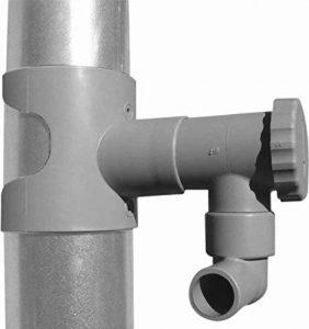 Récupérateur d'eau pour gouttière circulaire Gris de la marque Jardieco image 0 produit