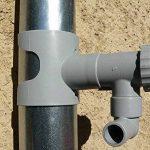 Récupérateur d'eau pour gouttière circulaire Gris de la marque Jardieco image 1 produit