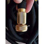 Redzone 30,5m/45,7m stretch Magic Flexible extensible 3x extensible Triple épaisseur Nature en latex avec raccords de tuyau de laiton massif et Professional 9Fonction Pistolet Vaporisateur 150FT de la marque RedZone image 4 produit