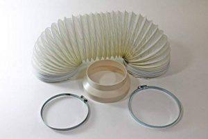 Rhinocables Rallonge de flexible pour climatiseurs mobiles, permet d'ajouter 3 m à votre tuyau d'arrosage de la marque Certified-Insane image 0 produit
