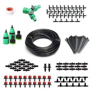 ROKOO Kit d'irrigation goutte-à-goutte automatique de tuyau de 40m de jet de jet de 2-en-1 pour des usines de flowerbed de jardin de la marque ROKOO image 0 produit