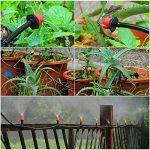 ROKOO Kit d'irrigation goutte-à-goutte automatique de tuyau de 40m de jet de jet de 2-en-1 pour des usines de flowerbed de jardin de la marque ROKOO image 2 produit