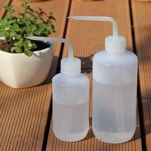 Romote Lot de 2Plante Succulente Fleur d'arrosage Bouteille Plastique Bend Bouche arrosoirs Squeeze Bottle-250ml et 500ml de la marque Romote image 0 produit