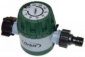 S&M Orbit 96014 Minuteur d'arrosage mécanique pour robinet fileté 5,5x 14x 8cm Vert de la marque S&M image 0 produit