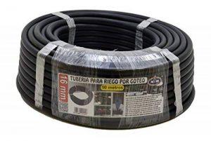 S&M S & M 010057–Tuyau pour arrosage en goutte à goutte, 16mm x 50m, couleur noir de la marque S&M image 0 produit