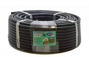 S&M S&M 010064–Tuyau pour arrosage en goutte à goutte, 16 mm x 100 m, noir de la marque S&M image 0 produit