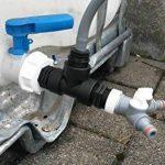 s196W13593ys2146Bec Adaptateur avec robinet, IBC Adaptateur de réservoir d'eau de pluie de Accessoires de conteneurs Mamelon de Bidon de la marque CMTech GmbH Montagetechnik image 3 produit
