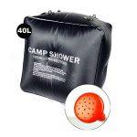 Sac de douche pour camping 40L Portable Solaire de la marque Générique image 1 produit