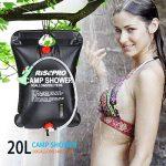 Sac de douche solaire, 20 litres, camping, température 45 °C, randonnée, escalade de la marque RISEPRO image 4 produit