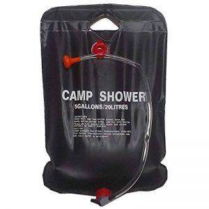 Sac Douche - TOOGOO(R) Douche solaire de camping Noir 20 L de la marque TOOGOO(R) image 0 produit