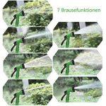 Sailun® Tuyau de jardin flexible Flexi tuyau avec multifonctions douche avec 7fonctions, extensible tuyau d'arrosage pour lavage de voiture nettoyage irrigation travail de jardin 60m vert de la marque SAILUN image 5 produit