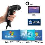 Scanner Code à Barres Câblé MUNBYN Lecteur de Code-Barres avec Fil USB 1D 2D QR Code pour Magasin de Détail, Magasin de Vêtements, Supermarché et Petite Entreprise à Domicile de la marque MUNBYN image 1 produit