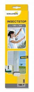 Schellenberg 50324 Maxi Moustiquaire contre insectes/moustiques 150 x 300 cm Blanc de la marque Schellenberg image 0 produit