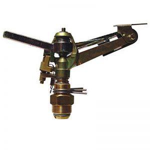 """Sigmund S.D.G. - Arroseur automatique - Tête cracheur rotatif métal à secteur réglable - Filetage 3/4"""" - 800m² de la marque Sigmund S.D.G. image 0 produit"""