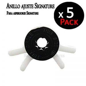 Signature Click ajustement de Angulo d'arrosage pour Aspergeurs turbinas Pack 5Unités de la marque Signature image 0 produit
