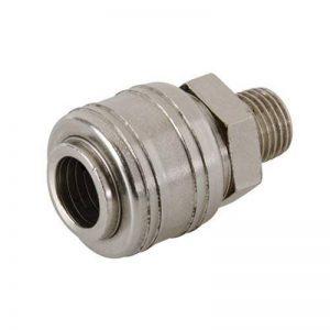 Silverline 237552 Coupleur rapide euro filetage pour tuyau air comprimé de la marque Silverline image 0 produit