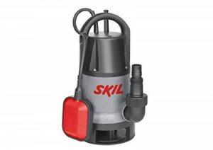 Skil 0810AA Pompe à eau Submersible / Immergée pour Pompe Eaux Chargée (500W, 10m Câble, avec Flotteur et Raccord universel) de la marque SKIL image 0 produit