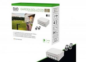 Solution Jardin avec 2 télécommandes – 4 canaux de la marque DiO Connected Home image 0 produit