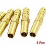 Sourcingmap Lot de 5Air Gas 8mm en laiton Tuyau droit connecteur femelle de la marque Sourcingmap image 1 produit