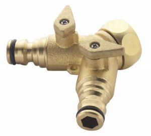 Spear & Jackson Raccord de robinet en laiton à 2 sorties 19 mm de la marque Neill Tools T/A Spear Jackson image 0 produit