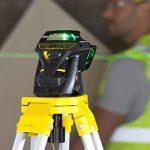 Stanley FatMax Niveau laser X3G, nivellement automatique avec diode verte, lunettes de vision de faisceau laser vertes, chargeur et mallette de transport, 1pièce, FMHT1–77356 de la marque Stanley image 1 produit