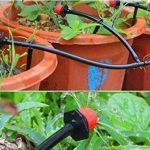 STAR SSTO 25M Micro Flow Drip Watering Irrigation Kits Système Self Plant Kits d'arrosage de tuyaux de jardin 30 Drippper Automatic Garden Plant Système d'eau de serre de la marque image 2 produit