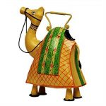 storeindya Arrosoir décoratif en métal Jar avec poignée Multicolor Intérieur Usage intérieur Accessoires de décoration de jardinage (Camel) de la marque storeindya image 3 produit