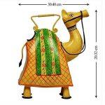 storeindya Arrosoir décoratif en métal Jar avec poignée Multicolor Intérieur Usage intérieur Accessoires de décoration de jardinage (Camel) de la marque storeindya image 2 produit