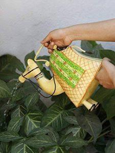 storeindya Arrosoir décoratif en métal Jar avec poignée Multicolor Intérieur Usage intérieur Accessoires de décoration de jardinage (Camel) de la marque storeindya image 0 produit