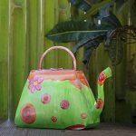 Storeindya - Arrosoir en métal avec poignée - Floral Print Design - Usage intérieur extérieur Accessoires de décoration de jardinage de la marque storeindya image 1 produit
