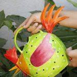 storeindya Arrosoir en métal avec poignée - Forme de coq - Usage intérieur extérieur Accessoires de décoration de jardinage de la marque storeindya image 1 produit