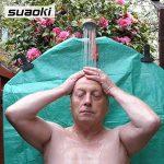 Suaoki Portable Camping Douche batterie avec batterie rechargeable Distincts, pomme de douche, 1.8 m Hose, câble USB et pompe à eau pour extérieur de voyage de voiture à laver Pop Up Tente de confidentialité de la marque SUAOKI image 3 produit