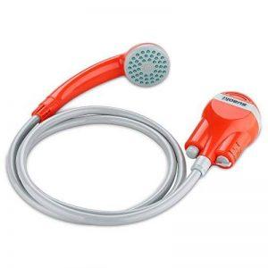 Suaoki Portable Camping Douche batterie avec batterie rechargeable Distincts, pomme de douche, 1.8 m Hose, câble USB et pompe à eau pour extérieur de voyage de voiture à laver Pop Up Tente de confidentialité de la marque SUAOKI image 0 produit