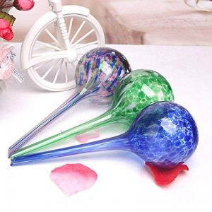 Sungmor Aqua globes 3PC Ensemble, d'arrosage automatique ampoules en verre, 7cm x 20cm, capacité de 200ml, Meilleur d'arrosage des Solutions pour l'intérieur, extérieur et bureau Plante en pot de la marque Sungmor image 0 produit