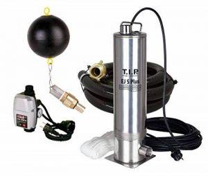 T.I.P. 30196Pompes de pompe submersible en acier inoxydable EJ 5Plus avec accessoires de raccordement pour contrôle électronique et la pompe, jusqu'à 5700L/H Débit de la marque T.I.P. image 0 produit