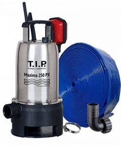 T.I.P. 30266 Maxima 250 PX Pompe submersible pour eaux usées avec flexible de décharge Ø 32 mm 10 m de la marque T.I.P. image 0 produit