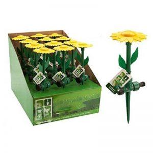 takestop Lot 3Fleur Arroseur tournesol avec piquet d'arrosage arrosage plantes irrigation pelouse jardin de la marque takestop image 0 produit